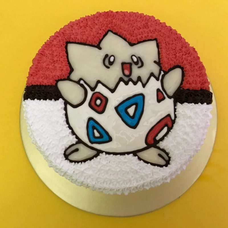 Togepi on Pokeball
