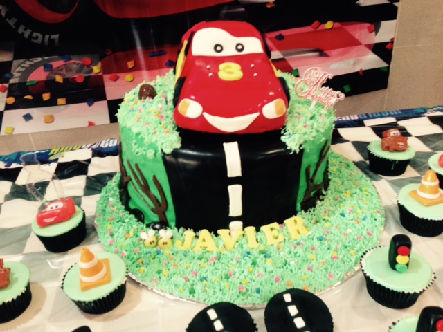 Lightning Mcqueen Car Cake