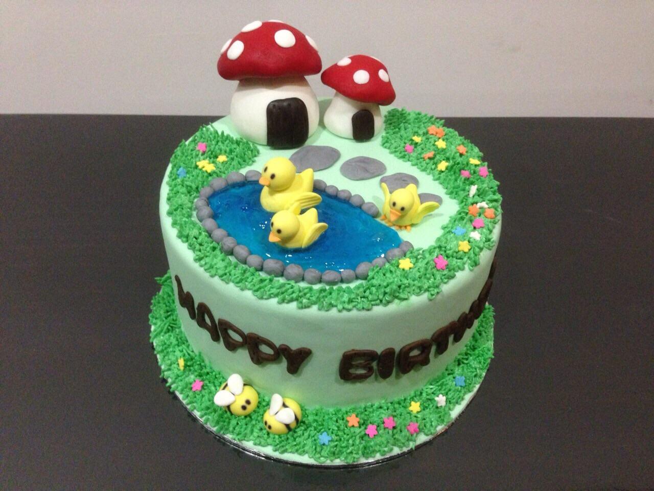 Mushroom Duckling
