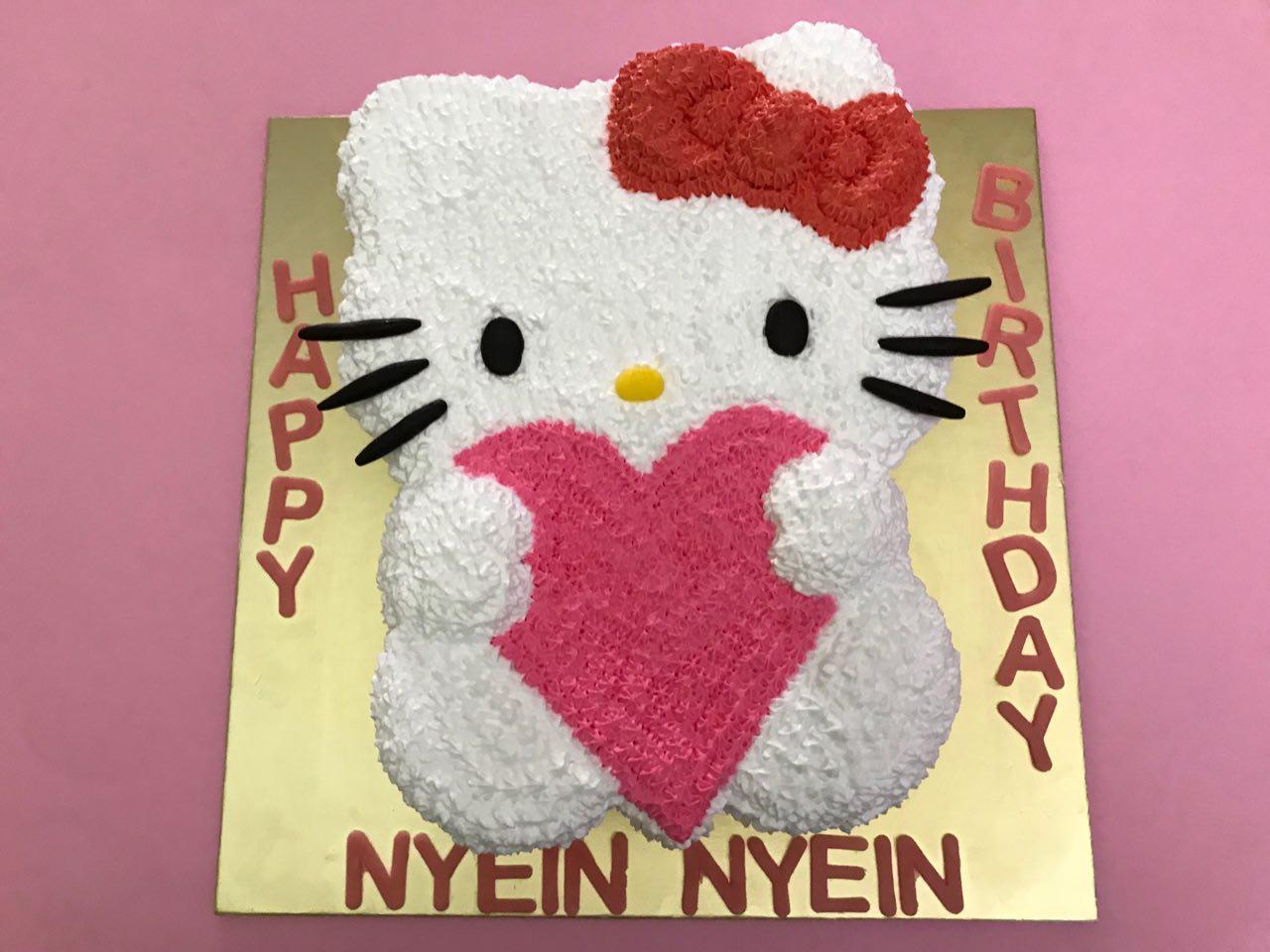 2D Hello Kitty Heart